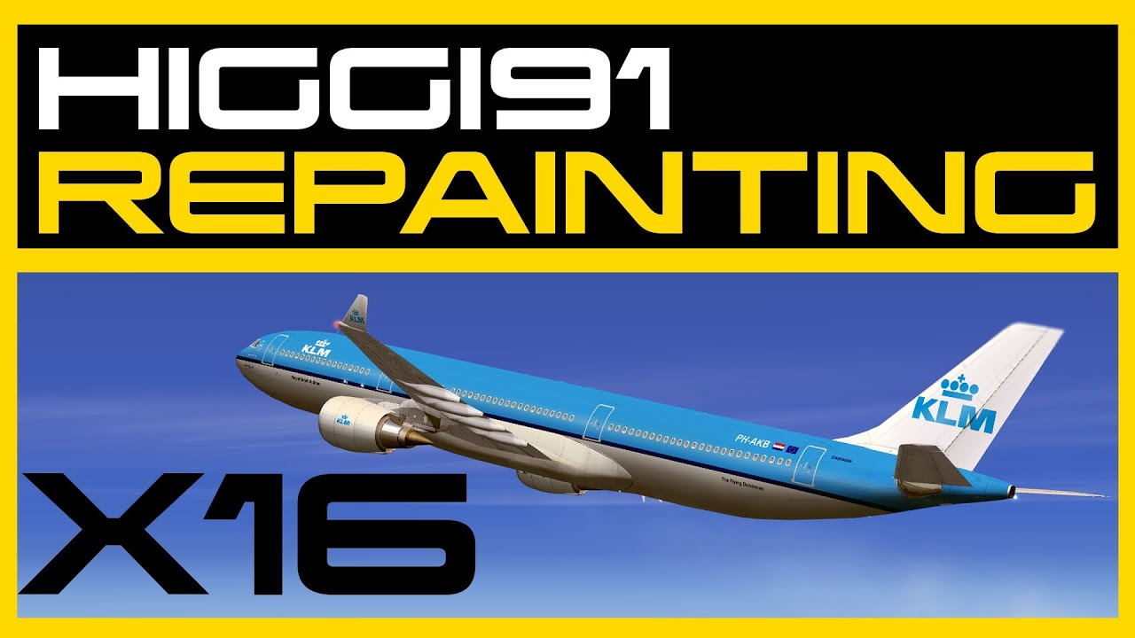 Timelapse Repainting - KLM A330-300 (CLS)