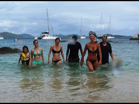 Virgin Gorda travel video in the BVI