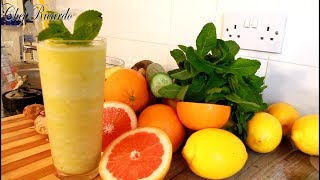 Pineapple Ginger,Juice Healthy And Homemade Yummy One | Recipes By Chef Ricardo