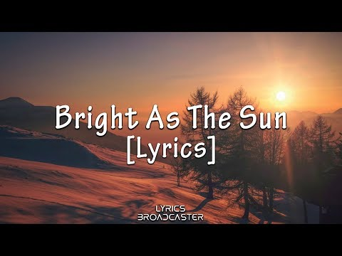 J Fla - Bright As The Sun (Asian Games 2018 Official Song) [Lyrics]