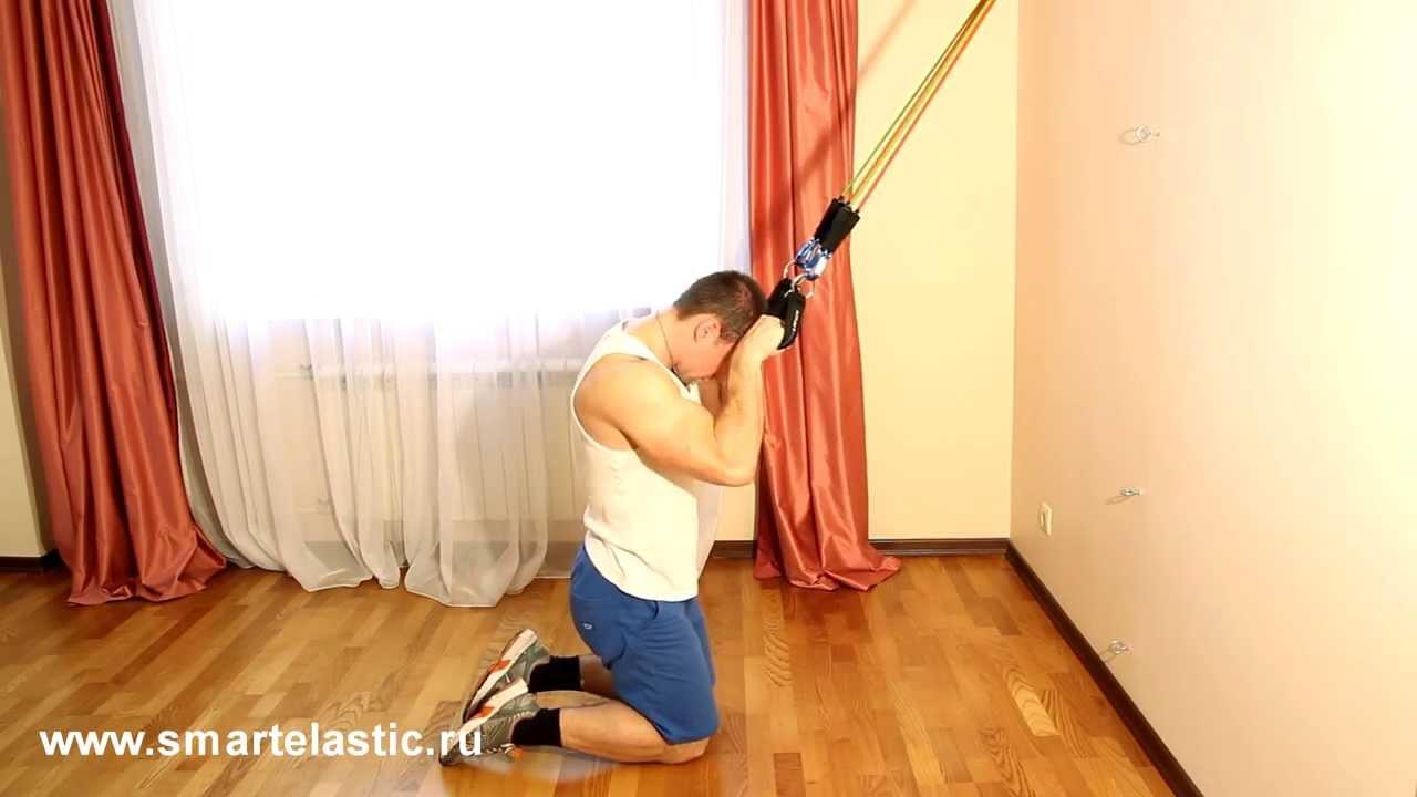 Упражнения для пресса   smartelastic.ru   720x1280