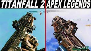 Apex Legends vs Titanfall 2 - Weapons Comparison