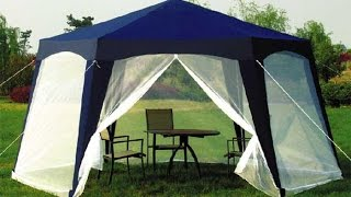 Садовый тент шатер Green Glade 1006 10061(Садовый тент шатер Green Glade 1006 10061 прекрасно подойдет как для выездов на пикники, так и как альтернатива стаци..., 2014-07-29T09:42:41.000Z)