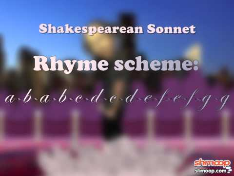 Sonnets by Shmoop