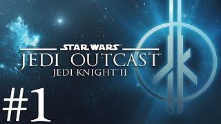 Star Wars Jedi Knight II: Jedi Outcast Walkthrough part 1 - Kejim Post [No commentary]