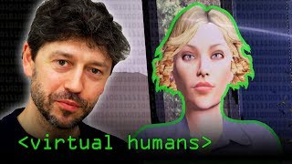 Virtual Humans (Embodied Conversational Agents) - Computerphile