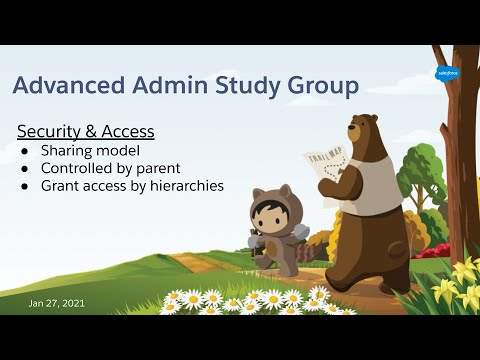 Salesforce Advanced Admin Study Group - Security & Access - part 1