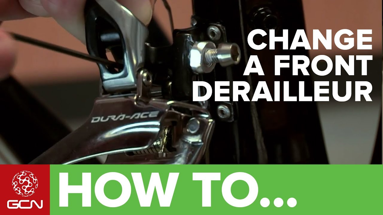 How To Change Your Front Derailleur Replacing Your Bike