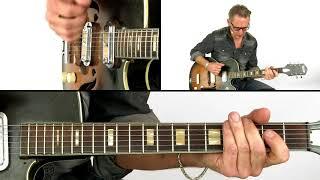 Down Home Boogie & Blues Guitar Lesson - Connecting Positions - Richard van Bergen