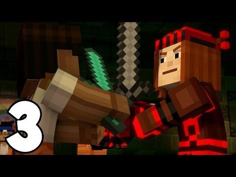 Minecraft Story Mode: Season 2 - Episode 3 - SUDDEN DEATH! (3)