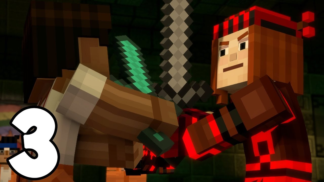 Minecraft Story Mode Season 2 Episode 3 Sudden Death 3