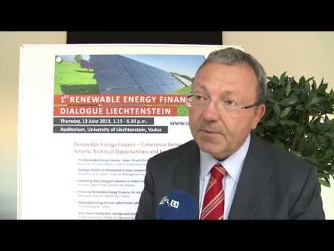 1st Renewable Energy Finance Dialogue - Universität Liechtenstein