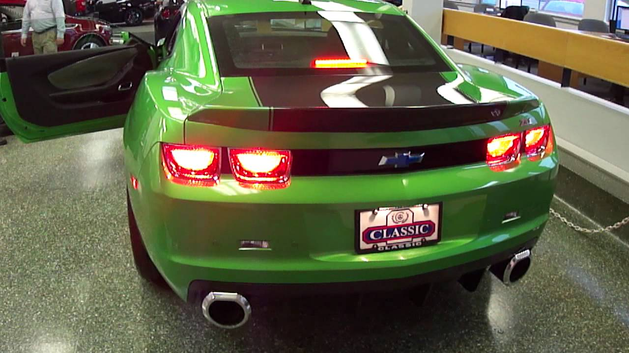 exclusive 2011 slp camaro zl1 1 youtube. Black Bedroom Furniture Sets. Home Design Ideas