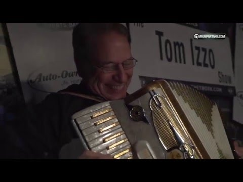 Tom Izzo plays the Accordion 2015