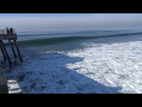 Huntington Beach, CA, Surf, 12/9/2018 - Part 9