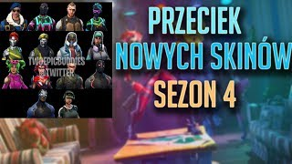 NOUVEAU SKINS LEAK SEASON 4-FORTNITE