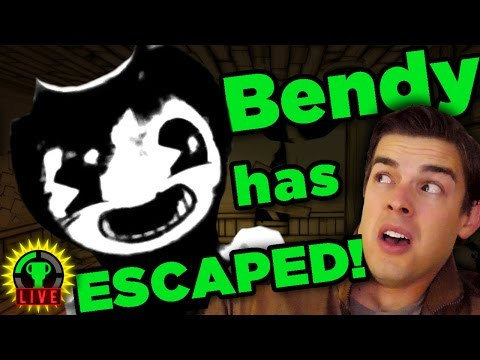 GTLive: Disney's EVIL MICKEY! | Bendy and the Ink Machine - GTLive - Bendy and the Ink Machine
