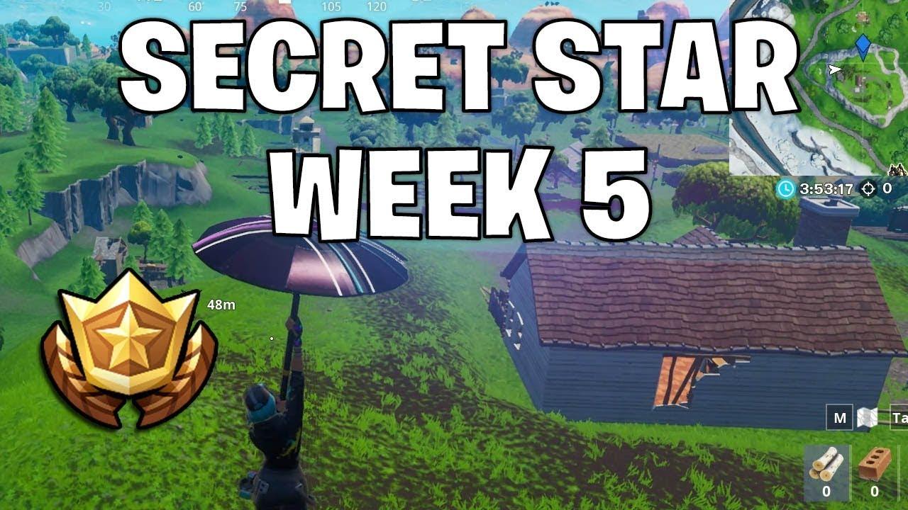 Secret battle star week 5 - Games Garage