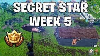 secret battle star week 5 - Fortnite season x