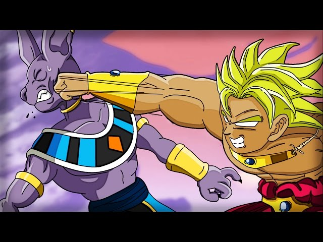EL SORPRENDENTE ENCUENTRO DE BILLS Y EL INMORTAL BROLY | CAP 8 ● BROLY SAGA ALTERNATIVE