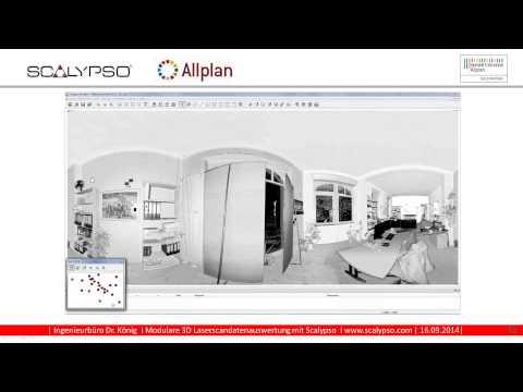 Scalypso 3D Laserscanning nach BIM für Architekten – Bauen im Bestand