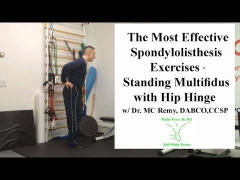 spondylothesis exercises avoid Spondylolysis (spon-dee-low-lye-sis) and spondylolisthesis (spon-dee-low-lis-thee-sis) are common causes of low back pain in young athletes spondylolysis is a crack or stress fracture in one of the vertebrae, the small bones that make up the spinal column.