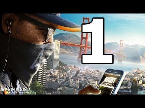 Watch Dogs 2 Walkthrough Part 1 - No Commentary Playthrough (PS4)
