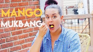 Mango Mukbang and Vacay Update // MoreSaltPlease