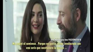 Halit Ergenc & Berguzar Korel ....in Cannes Español subtítulos