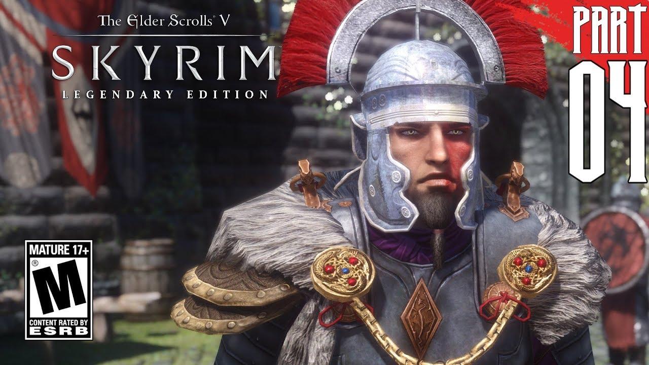【SKYRIM 200+ MODS】 Imperial Gameplay Walkthrough Part 4 [PC - HD]