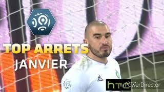Ligue 1 - top arrêts janvier - 2015/16