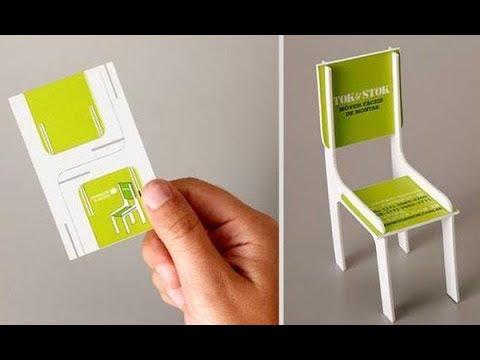Những mẫu thiết kế card visit độc đáo có một không hai