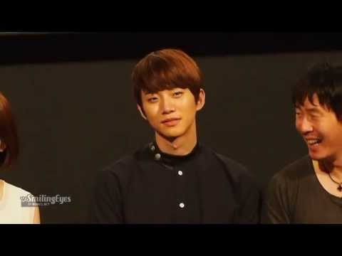 "[Fancam] 130721 Junho @ ""Cold Eyes"" Cinema Stage Greeting"