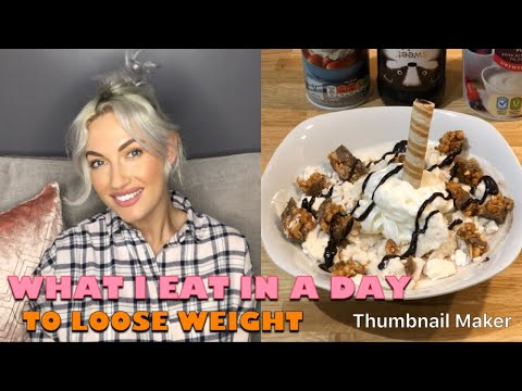 WHAT I EAT IN A DAY ON SLIMMING WORLD / HOW I LOST MY 4 STONE....