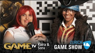 Game TV Schweiz - Interview mit Kairi & Sora (Zürich Game Show)