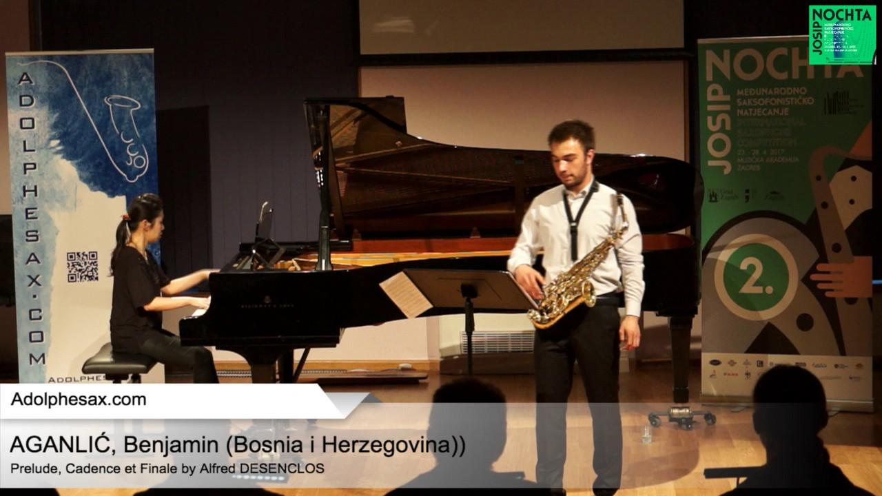 Prelude, Cadence et Finale (Alfred Desenclos) – AGANLIC?, Benjamin (BiH)