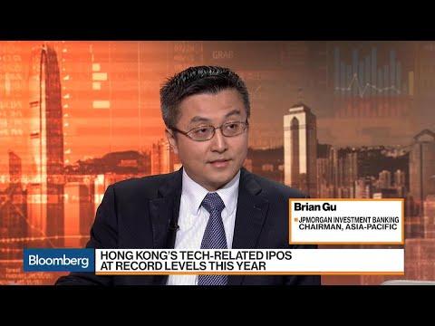JPMorgan's Gu on Tech IPOs, M&A, Health Care, Trends