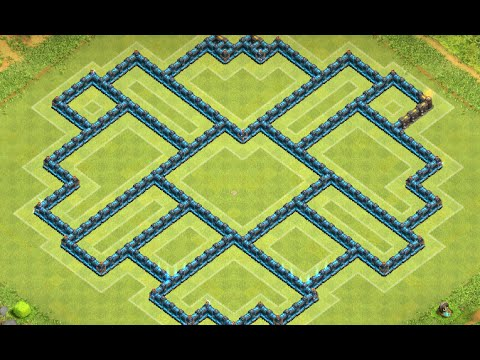 Clash of Clans: NEW Townhall 10 (TH10) Compact Farming Base ll Central DE ll Sep. 2015 Edition