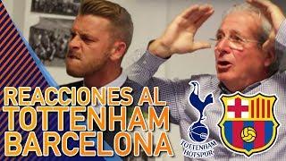 ASÍ VIBRARON D' Alessandro y Jota Jordi con la EXHIBICIÓN del Barça en Wembley