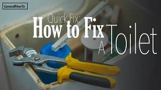 Fix A Running Toilet *Guaranteed*