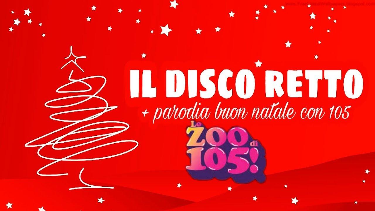 Buon Natale 105.Il Disco Retto Parodia Buon Natale Con 105