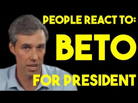 People React To Beto Running For President