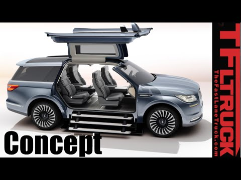 2017 Lincoln Navigator Concept Debut And Everything You Ever Wanted
