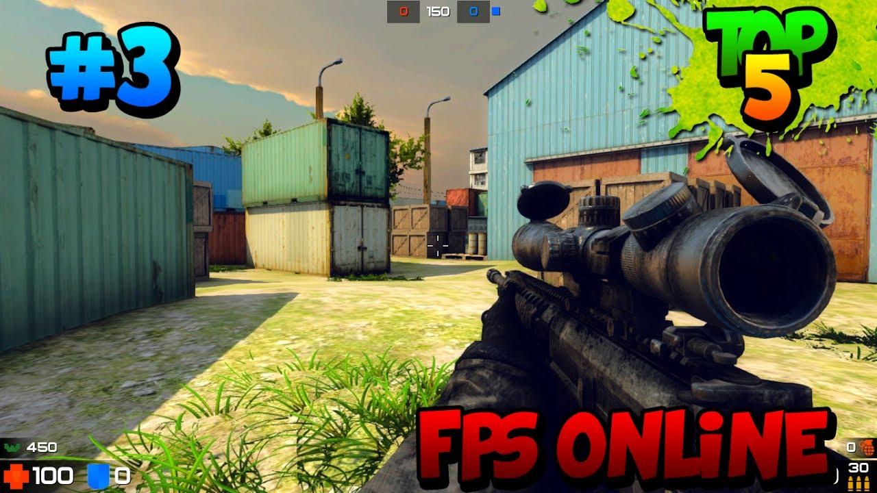 Top 5 Los Mejores Juegos Fps Shooter Online Gratis Para Pc