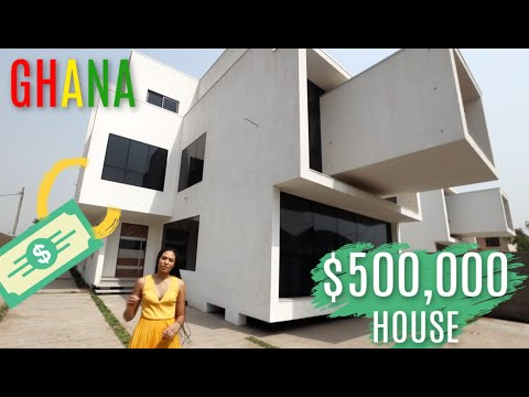 WHAT $500,000 GETS YOU IN GHANA | LUXURY HOME TOUR IN GHANA