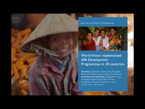 Glimpse of World Vision Asia Pacific's 2016