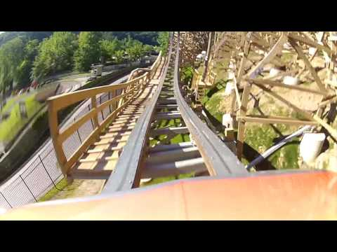 Lightning Rod NOW OPEN! Official POV Dollywood RMC Roller Coaster Rocky Mountain Construction 2016