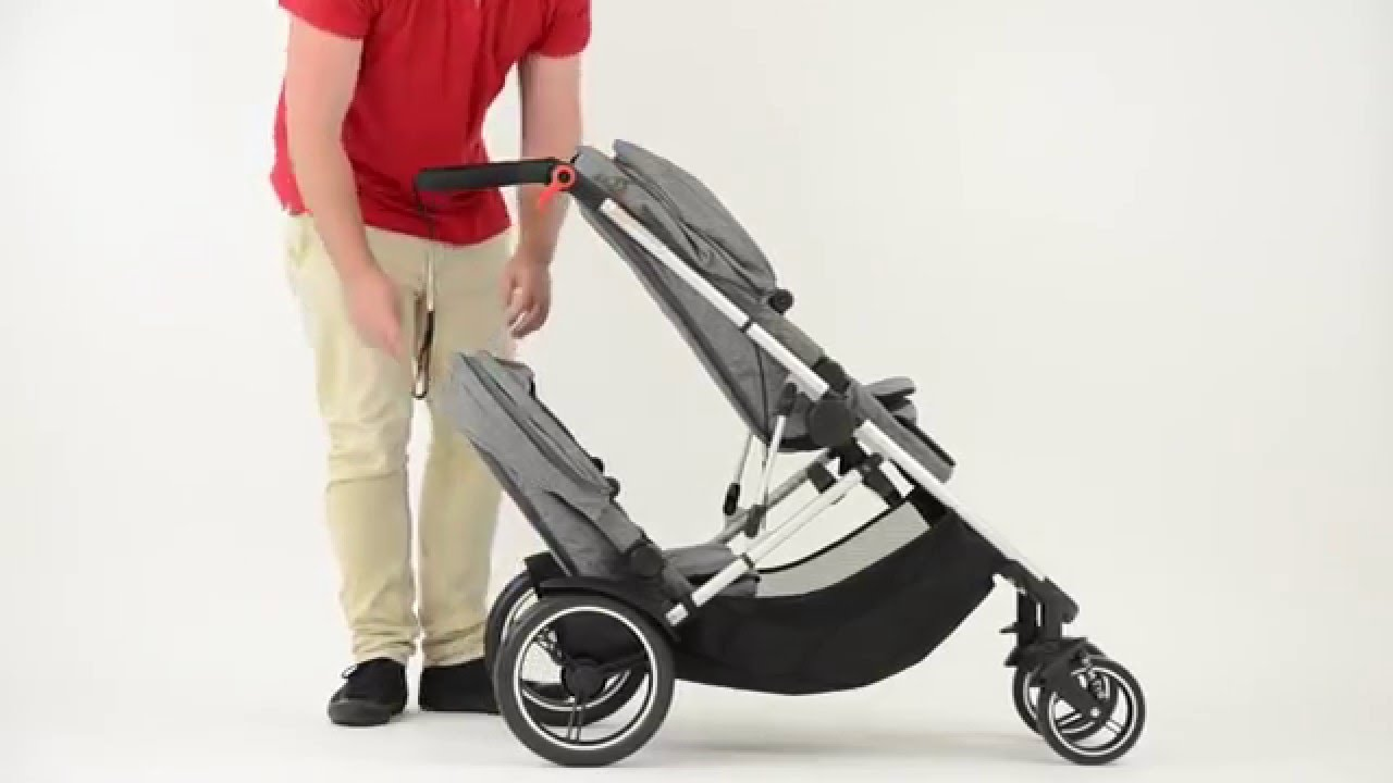 Phil And Teds Double Buggy Vibe Voyager Fold With Double Kit Phil Teds 2015