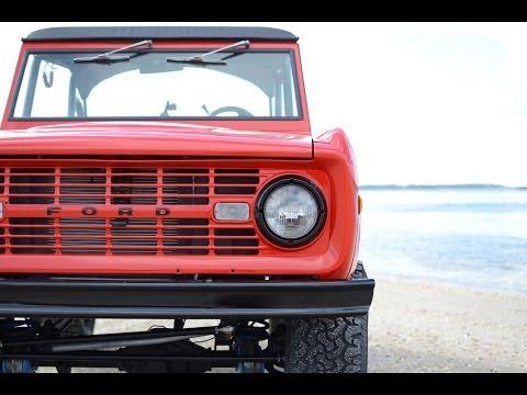 1976 Ford Bronco Red Ranger