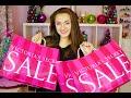 HUGE Victoria's Secret Semi Annual Sale HAUL 2015